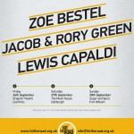 Hit The Road Tour – Jacob & Rory Green, Lewis Capaldi and Zoe Bestel