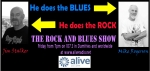 The Rock and Blues Show on air from 7pm